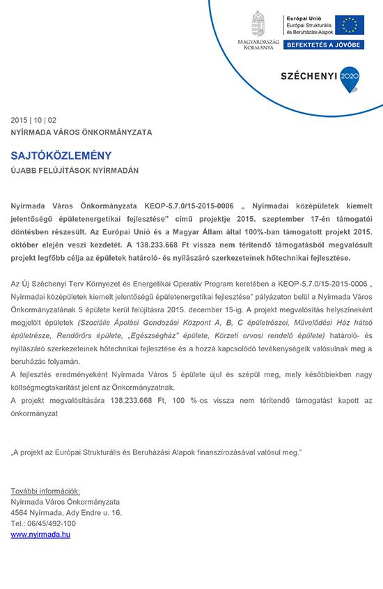Sajtokozlemeny_Nyirmada_epuletenergetika_151002
